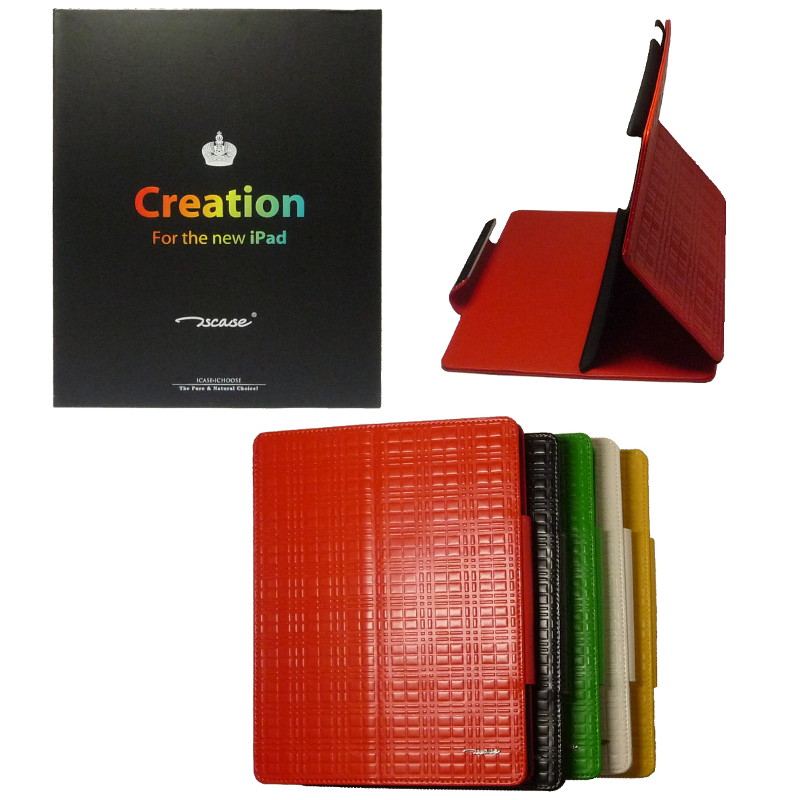Чехол книга для iPad 2/3/4 TSCASE CREATION