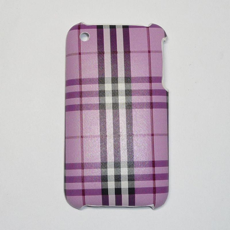 Накладка для iPhone 3G/3GS в клеточку Вид 04