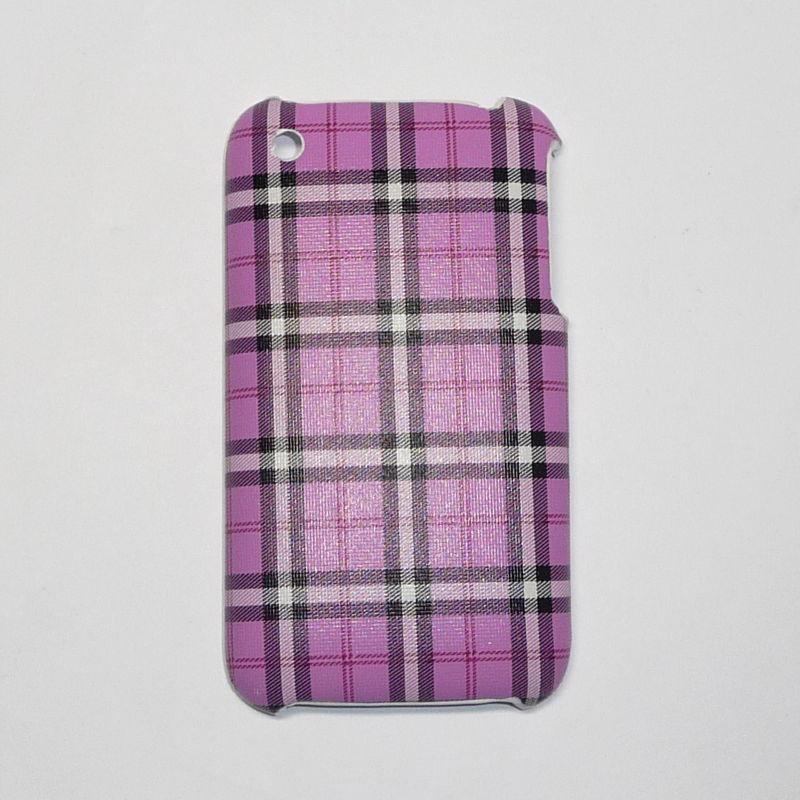 Накладка для iPhone 3G/3GS в клеточку Вид 05