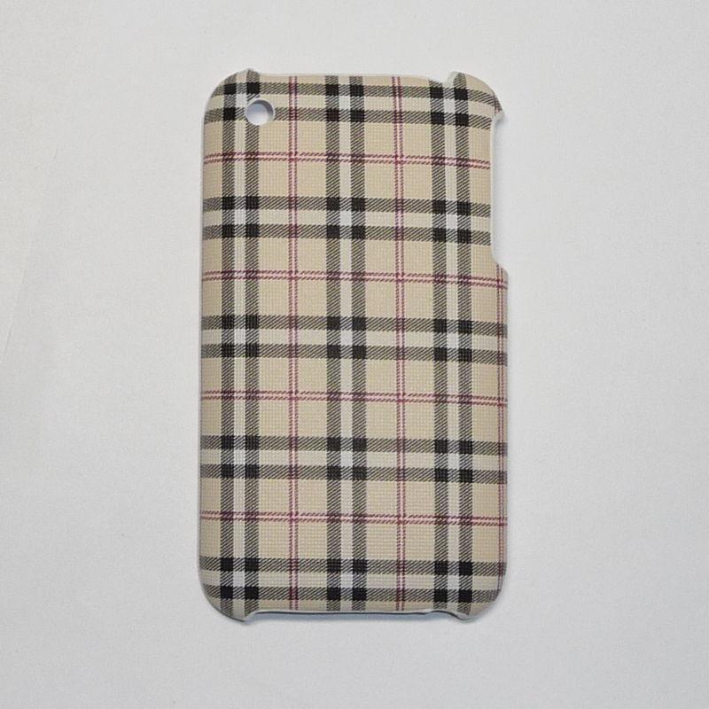 Накладка для iPhone 3G/3GS в клеточку Вид 06