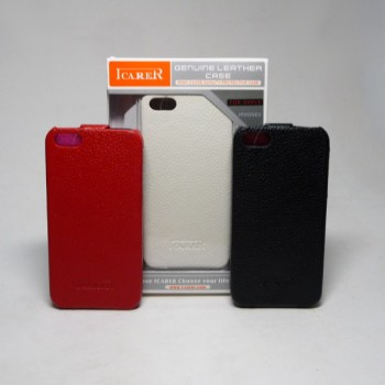 Чехол книга iPhone 5/5S ICARER кожа