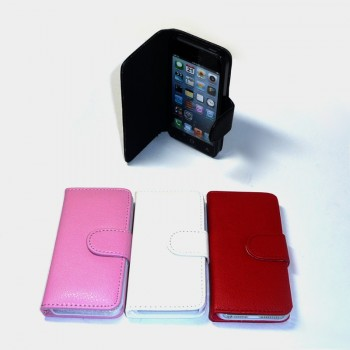 Чехол книга кожзам горизонтальный iPhone 5/5S
