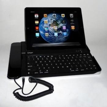 Клавиатура подставка с телефонной трубкой для iPad2/3/4/5AIR Bluetooth (iPega) PG-IP090A