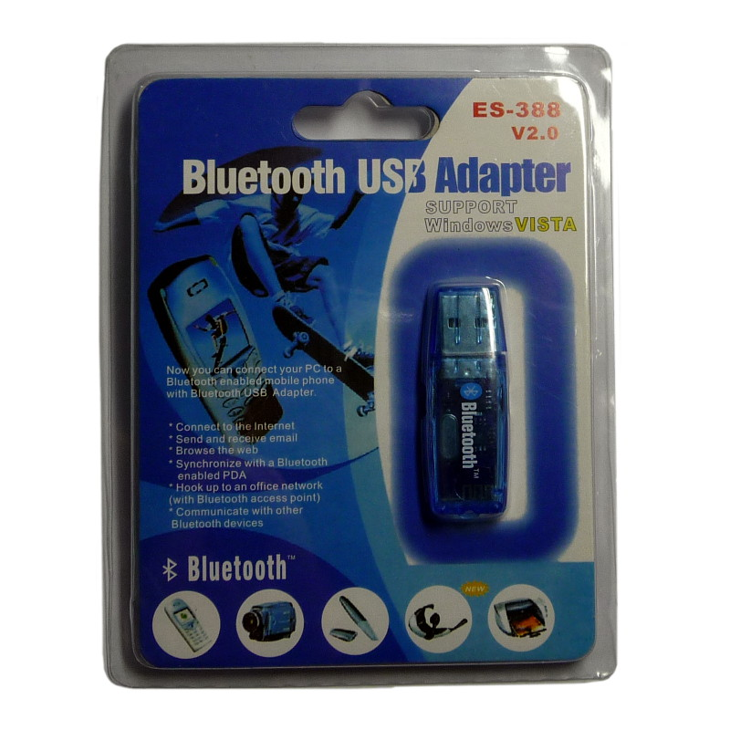Bluetooth адаптер E.CYCLONE ES-388 (100 метровый)