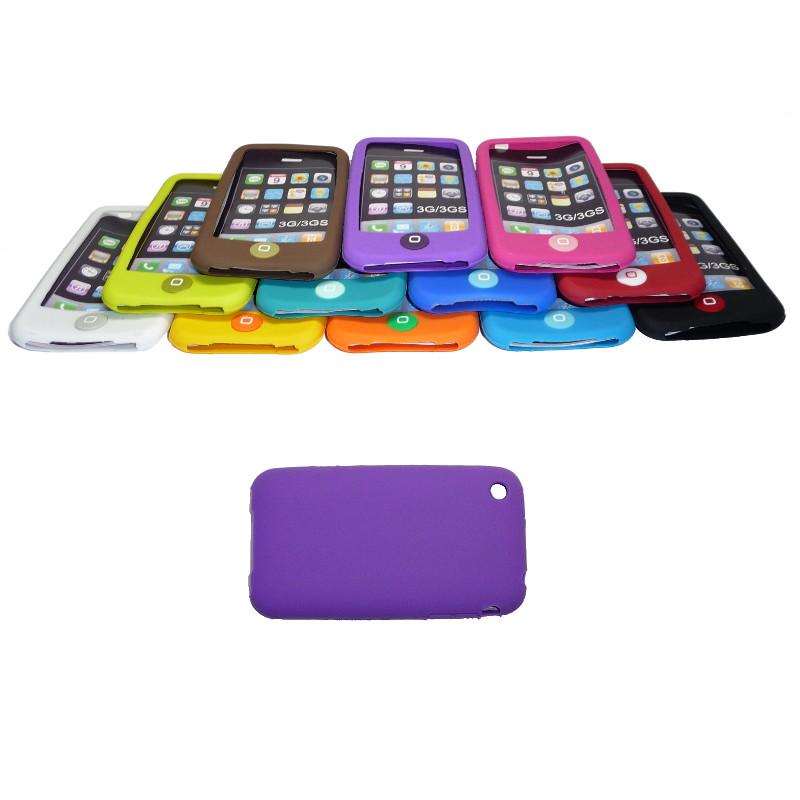 Накладка силиконовая для iPhone 3G