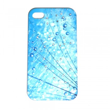 Накладка для iPhone 4/4S брызги со стразами вид 12