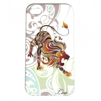 Накладка для iPhone 4/4S знаки зодиака Лев