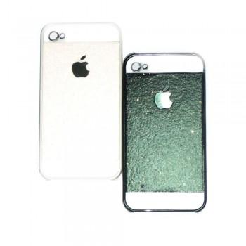 Накладка для iPhone 4/4S Apple с блестками