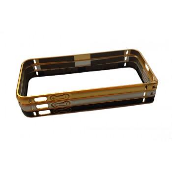 Бампер для iPhone 5G/5S/5SE металлический