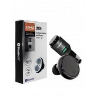 Bluetooth гарнитура LDNIO CM20 с автомобильной USB зарядкой