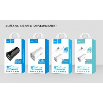 АЗУ с 2-мя USB выходами HOCO Z12 2400mA