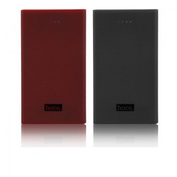 Дополнительный аккумулятор HOCO B12A Carbon fiber 13000mAh