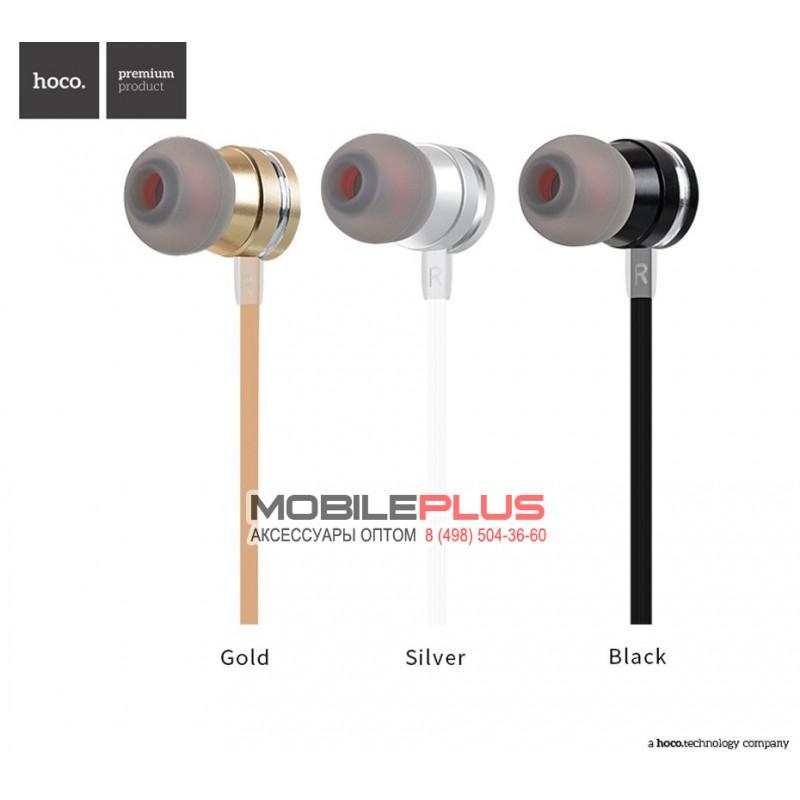Наушники HOCO M16 Ling sound  metal universal earphone with mic