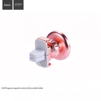 Держатель для смартфона HOCO CA8 Fragrant magnetic metal vehicle mobile holder