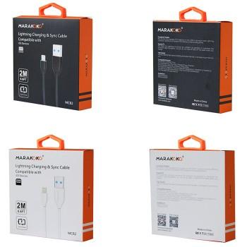 USB кабель 8pin для iPhone 5/6/7 MARAKOKO MCB2