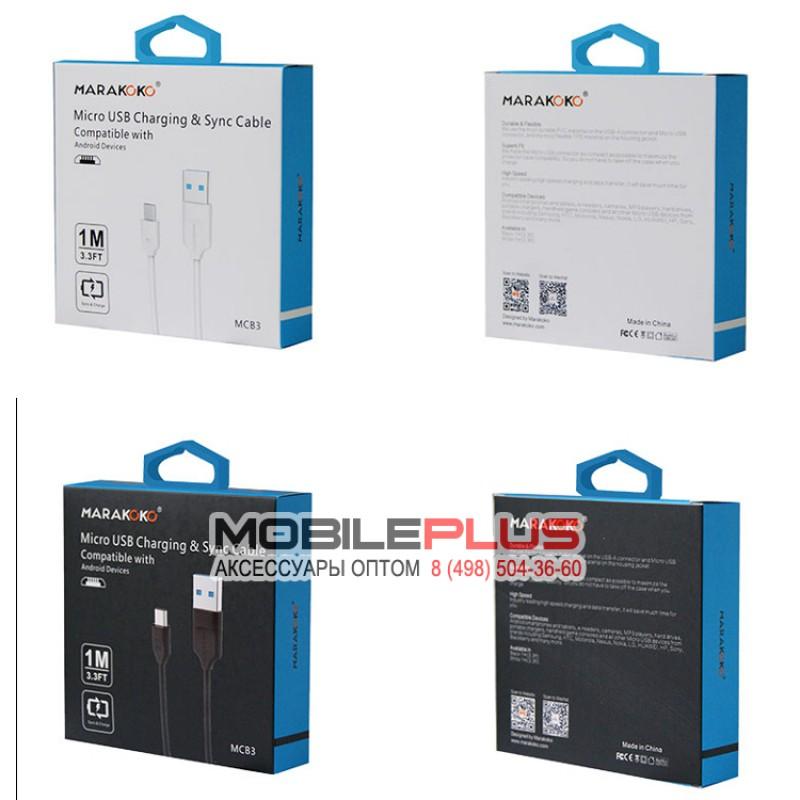USB кабель microUSB MARAKOKO MCB3