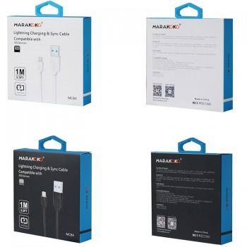 USB кабель 8pin для iPhone 5/6/7 MARAKOKO MCB4
