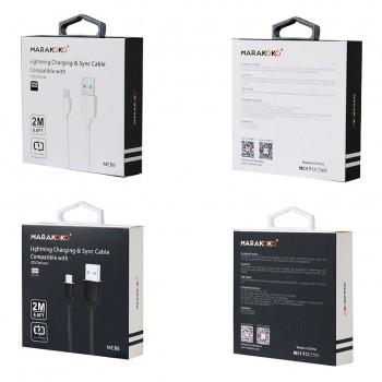 USB кабель 8pin для iPhone 5/6/7 MARAKOKO MCB6