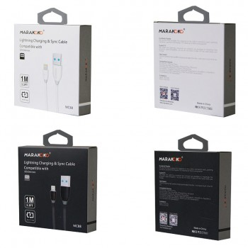 USB кабель 8pin для iPhone 5/6/7 MARAKOKO MCB8