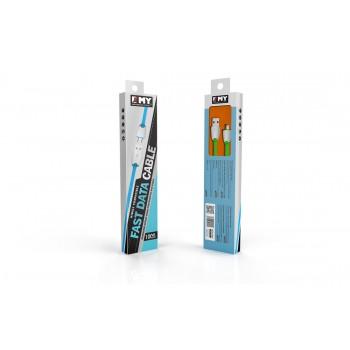 USB кабель microUSB EMY MY-441