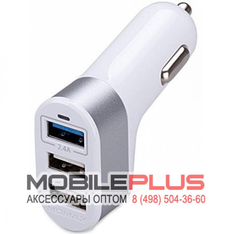 АЗУ с 3-мя USB выходами MOMAX SXTW 4400mA