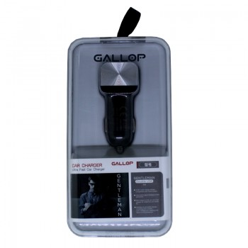 АЗУ с 2-мя USB выходами GALLOP GENTLEMAN 2100mA