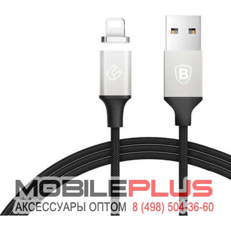 USB кабель 8pin для iPhone 5/6/7 BASEUS Magnetic CALNP-S1 1.2м