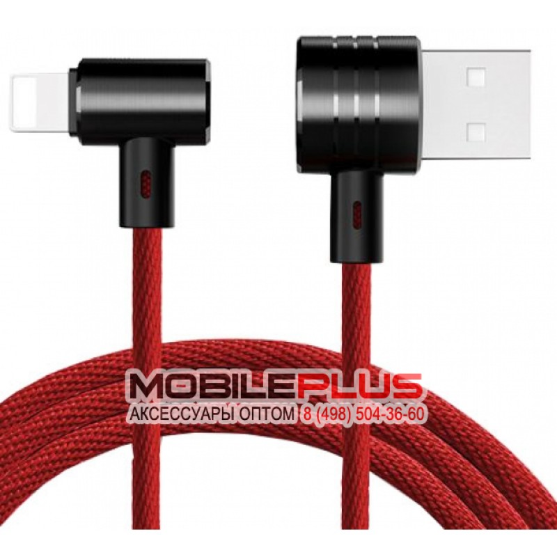 USB кабель 2в1 microUSB/8pin для iPhone 5/6/7 BASEUS T-TYPE CALTX-A09 1.2м
