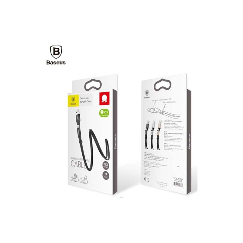 USB кабель 8pin для iPhone 5/6/7 BASEUS Nimble CALMBJ-A01 1.2м