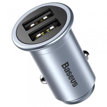 АЗУ с 2-мя USB выходами BASEUS MINI T Dual U CCMNT-16 2400mA