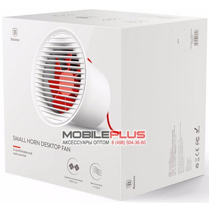 Вентилятор от USB разъёма с регулировкой скорости Baseus Small Horn Desktop Fan CXLB-02