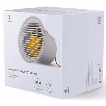 Вентилятор от USB разъёма с регулировкой скорости Baseus Small Horn Desktop Fan CXLB-0G