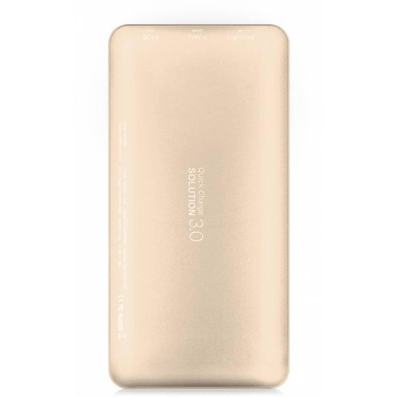 Дополнительный аккумулятор PowerBank Baseus Galaxy (Type-c/8pin) QuickCharge 3.0 10000mAh PPLGP-0V