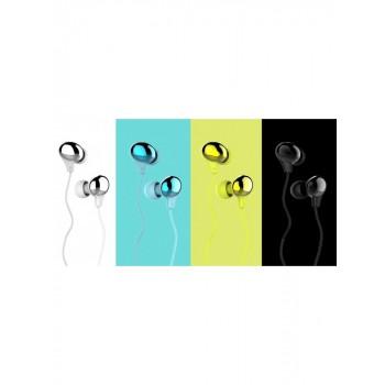 Наушники с микрофоном USAMS Color Beans Plating In-ear Earphone Ewave series US-SJ063