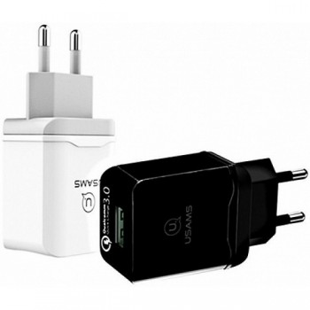 СЗУ с USB выходом USAMS QC3.0 Travel Charger US-CC024