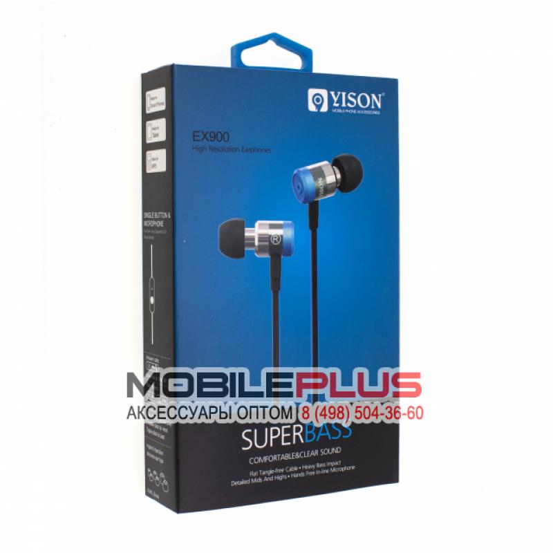 Наушники с микрофоном YISON EX900