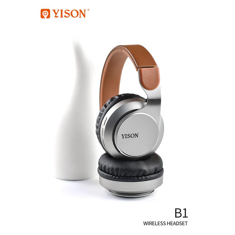 Наушники с микрофоном YISON B1