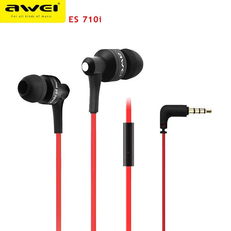 Наушники с микрофоном AWEI 710I