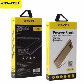 Дополнительный аккумулятор PowerBanK AWEI P91K 8000mah