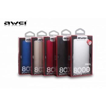 Дополнительный аккумулятор PowerBanK AWEI P82K 8000mah
