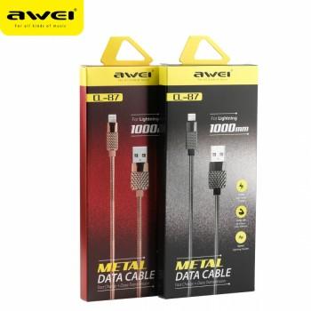 USB кабель 8pin для iPhone 5/6/7 AWEI CL-87