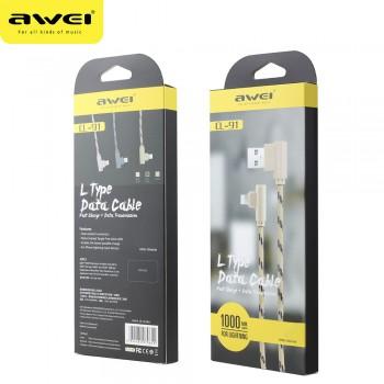USB кабель 8pin для iPhone 5/6/7 AWEI CL-91