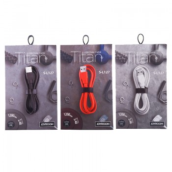USB кабель 8pin для iPhone 5/6/7 JOYROOM Titans S-L127 1.2M