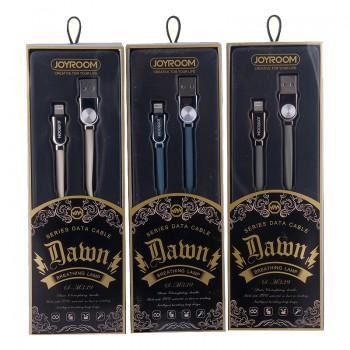 USB кабель 8pin для iPhone 5/6/7 JOYROOM Shuguang Series S-M339 1M