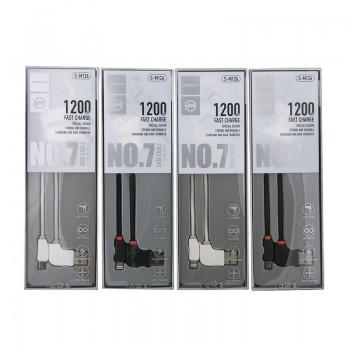 USB кабель 8pin для iPhone 5/6/7 JOYROOM Jet Black S-M126 1.2М