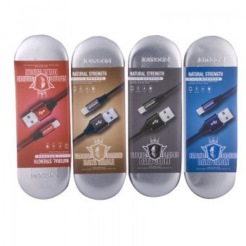 USB кабель 8pin для iPhone 5/6/7 JOYROOM New Armour Series Woven Fabric S-L316 1М