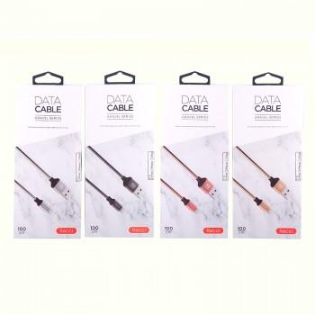 USB кабель 8pin для iPhone 5/6/7 Recci Graval RCL-W100