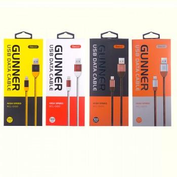 USB кабель 8pin для iPhone 5/6/7 Recci Gunner RCL-G100