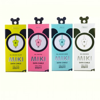 USB кабель 8pin для iPhone 5/6/7 Recci Miki RCL-I100