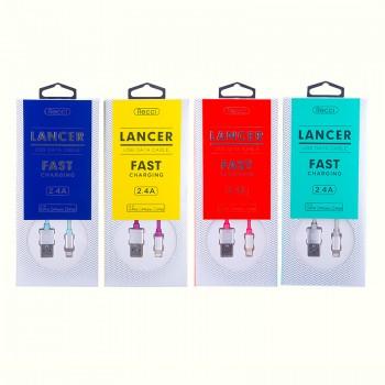 USB кабель 8pin для iPhone 5/6/7 Recci Lancer RCL-E100